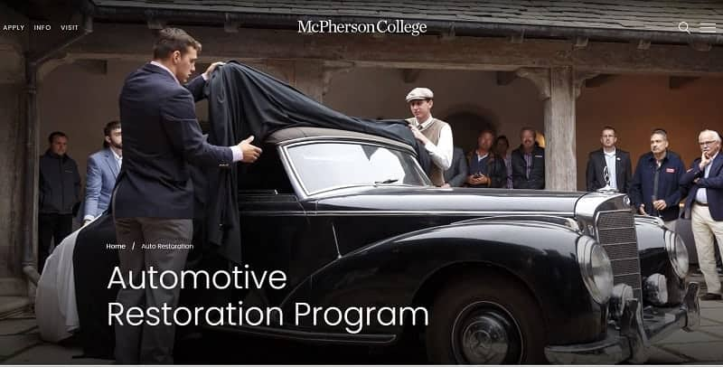 top automotive schools - McPherson