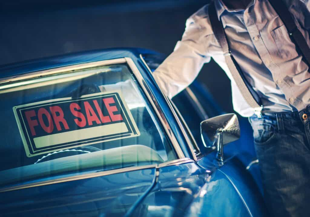 when to sell your car
