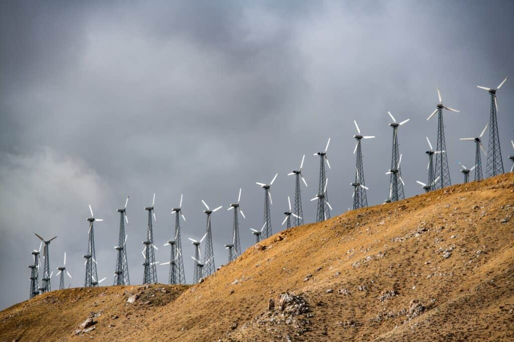 California electric windmills